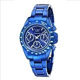 LTD Watch Unisex-Armbanduhr Aluminium collection Chronograph blau LTD 071901