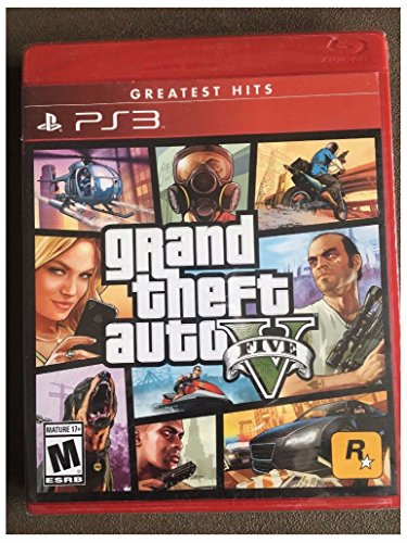 Grand Theft Auto V, GTA 5 PS3 (PlayStation 3, 2013) Greatest Hits