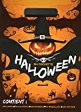 Ma pochette Halloween : Contient : des livres, du coloriage, des masques, du maquillage, des tattoos