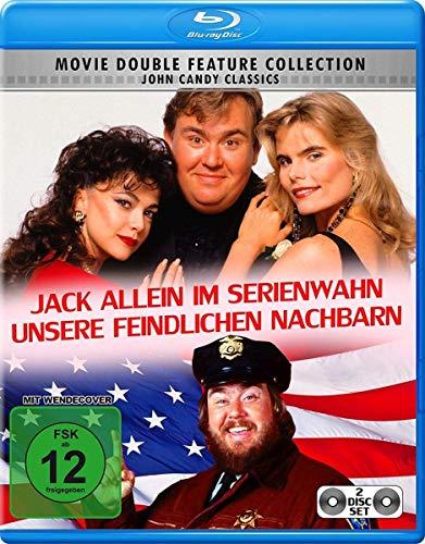 Unsere feindlichen Nachbarn / Jack allein im Serienwahn [Blu-ray]
