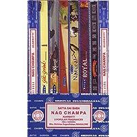 Räucherstäbchen 8er Set-Satya Nag Champa Superhit Royal Natural Räucherware 80g preisvergleich bei billige-tabletten.eu