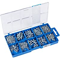 CONNEX DP8500055 Machine Screw and Nut Kit (275 Pieces)
