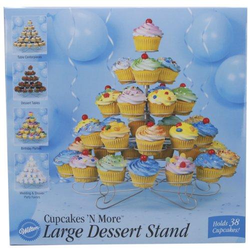 Wilton Cupcakes N More Torten-Ständer für 38 Cupcakes Wilton Cupcake Ständer