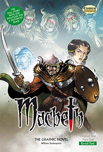 Macbeth the Graphic Novel: Quick Text (Classical Comics) por William Shakespeare