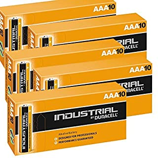 Duracell AAA Industrial Alkaline Battery (Pack of 50)