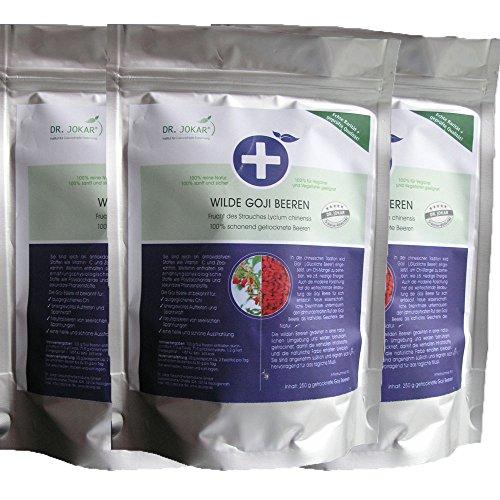 Dr. Jokar Goji Beeren 4000% mehr Antioxidantien im Test