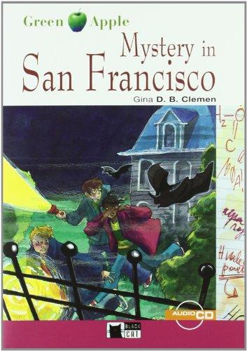 Mystery In San Francisco+cd (Black Cat. Green Apple) por Cideb Editrice S.R.L.