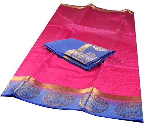 Nirja Creation Multi Color Traditional Fancy Cotton Party wear Silk Saree(8 Color)...