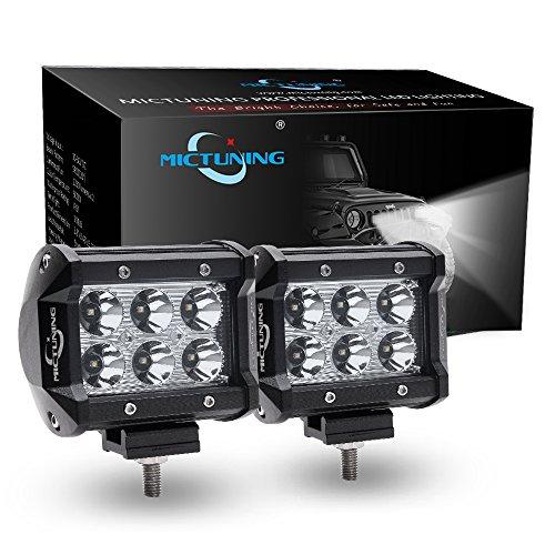 mictuning-2x-4-18w-cree-led-lights-bar-spot-beam-4x4-off-road-boat-driving-headlight