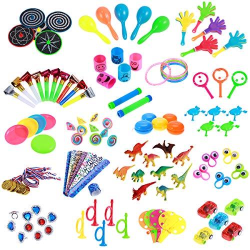 y Spielzeug Geburtstag Sortimente 120 STÜCKE Kleine Geschenke für Kids Party Favors Kinder Party Tombola Mitgebsel Kleinspielzeug Pinata Füllstoffe Karneval Preise ()