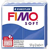 Staedtler - Fimo Soft - Pain Pâte à Modeler 57 g Bleu Brillant