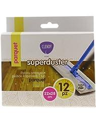 Clendy Superduster Contro Polvere Parquet - 12 Pezzi
