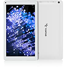 Yuntab D102 Tablette Tactile 10.1 pouces Android 6.0 A33 Quad-core CortexTM-A7 8Go, Support WiFi Jeux, Google Play Store, Youtube, Jeux (BLANCHE)