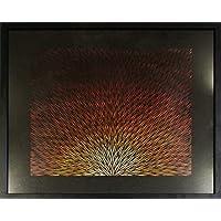 Pittura moderna : Raggi (53 x 63 cm)