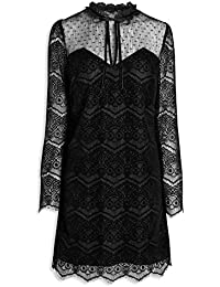 Next Womens Black Gothic Lace Dress [AD/489]
