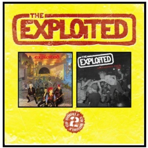 The Exploited: Troops of Tomorrow/Apocalypse Punk Tour (Audio CD)