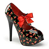 Pin Up Couture - Zapatos de vestir para mujer Schwarz 41/42 (US-11)