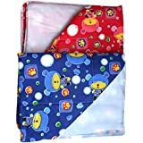 Dazzle Baby Diaper Changing Mat Waterproof Mat For Born Baby Bed Protector One Side Plastic Mat For Baby Boy Baby Girl