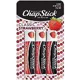 ChapStick Classic Lip Balm, Triple Pack, SPF 4, Strawberry, .15 oz
