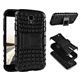 ECENCE Samsung Galaxy S4 Mini I9190 I9195 I9192 DUOS Outdoor Panzer Rugged Schutz HÜLLE Handy Tasche SILIKON CASE HYBRID Bumper Cover ETUI 21030304