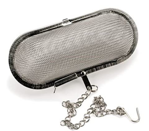 Jumbo Mesh Infuser Stainless Steel Herbs Spices Tea Soup Stew Cider by Tea Ball Strainers