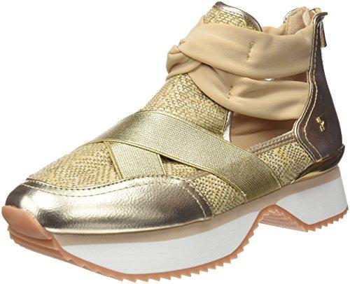 Gioseppo 43418, Zapatillas Altas para Mujer, Beige (Natural), 39 EU