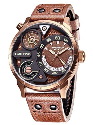 Alienwork Herren-Armbanduhr Quar...