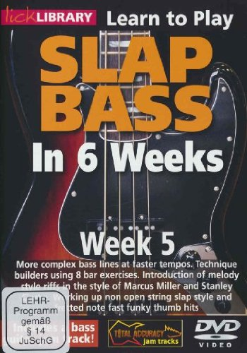 Phil Williams Slap Bass In 6 Weeks - Week 5
