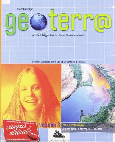 Geoterr@. Con espansione online. Per la Scuola media: 3