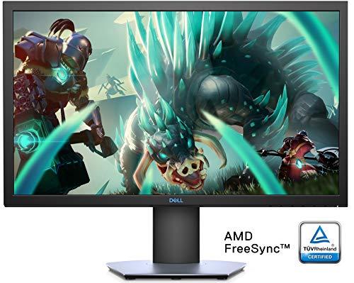 Dell S2419HGF LED Display 61 cm (24 Zoll) Full HD flach matt - Computerbildschirme (61 cm (24 Zoll), 1920 x 1080 Pixel, Full HD, LED, LCD, Silber) -