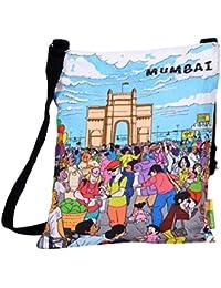 Eco Corner Women's Sling Bag (Multi-Coloured, 4237)