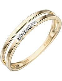 Eheringe gold mit 5 diamanten  Suchergebnis auf Amazon.de für: goldringe 585: Schmuck