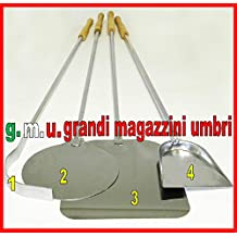 KIT PALE PER PIZZA FORNO A LEGNA SET PALE PER PIZZA 4 PZ SET PALA PIZZE KIT PIZZERIA SET FORNO PIZZA