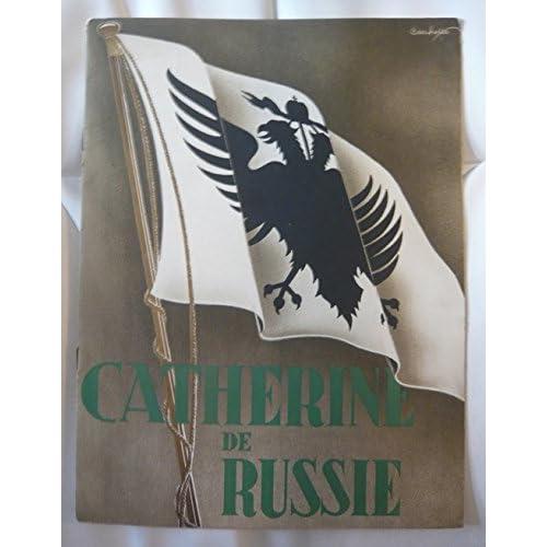Dossier de presse de Catherine de Russie de Paul Czinner (1934) – Film de Paul Czinner avec Douglas Fairbanks Jr, Elizabeth Bergner – 23x 31, 12 p Photos in texte N&B – Bon état.