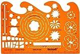 1:50 Schablone Zeichenschablone Gartenplanung Gartengestaltung Gartendesigns Architekt Garten Gartenpläne Gestalten Planen - Technisches Zeichnen