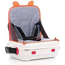 SOGAR Silla multifuncional port¨¢til para padres e hijos Silla impermeable para beb¨¦s adecuada para sillas traseras, naranja