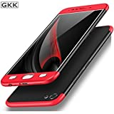 #10: MOBICLONICS 360 Degree Double Dip Premium Shockproof Back Cover Case for Vivo Y71 (Red+Black)