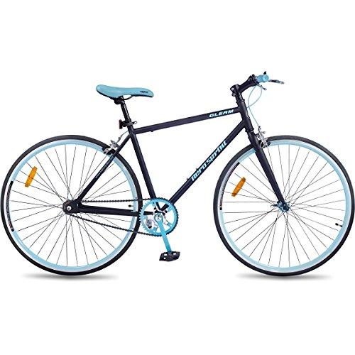 Hero Sprint Gleam 27T Single Speed Cycle (Blue)
