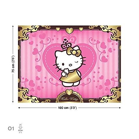 Hello Kitty Leinwand Bilder (PPD10O1FW)