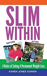 Slim Within: 4 Rules of Eating 4 Permanent Weight Loss by Karen Jones Gowen (2016-04-26)