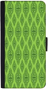 Snoogg Life Symptoms Green Treesdesigner Protective Flip Case Cover For Htc M8
