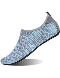 JOINFREE Calzado de Deportes Acuáticos para Hombres Calcetines de Aqua para Mujer de Secado Rápido Descalzo para Mujer para Nadar Playa Piscina Navegar