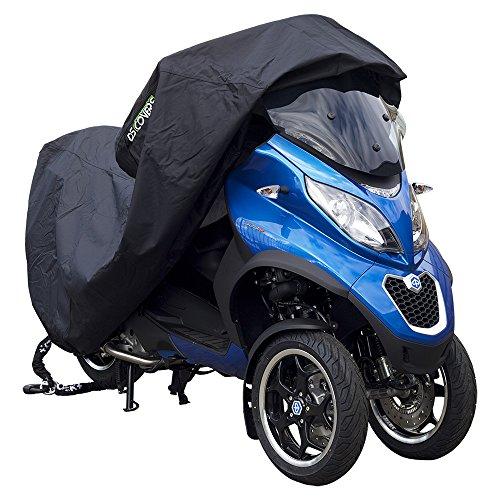 DS Covers 73160621Alfa-Motorrad-Abdeckung, Medium, in Schwarz Mp3-cover