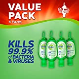 Dettol Anti-Bacterial Hand Gel, Aloe Vera, 50 ml, Pack of 4