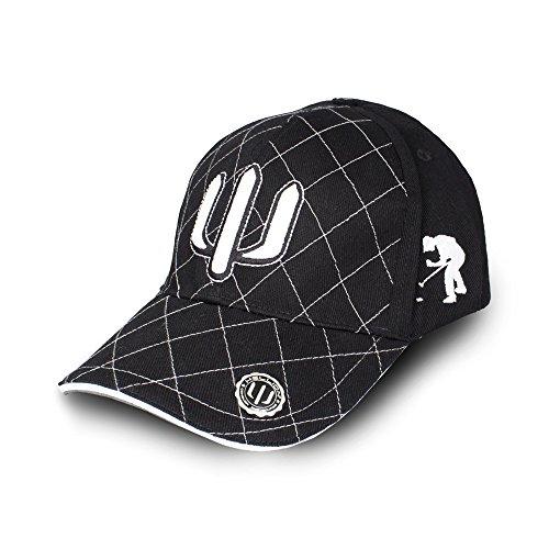 HELLION Golfcap Trident : Perfekter Sonnenschutz, lässiger Golfer Look (gibt\' auch als Golf Polo Shirt und Gürtel) (M/L)