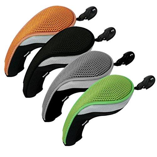 Andux coprimazza da golf per ibridi intercambiabile No. Etichetta colorato 4pcst MT/hy08