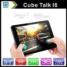 """ARBUYSHOP 9.7 """"3 G Phone Call Cubo i6 Tablet PC Intel Z3735F Quad Core 2048 * 1536 Retina IPS Android 4.4 2 G RAM 32 G ROM 8000 mAh GPS, Añadir caja del teclado"""
