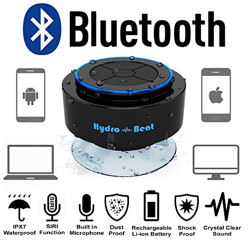Bluetooth-Lautsprecher Hydro-Beat Wireless Wasserdichter Lautsprecher – mit Bluetooth - 4
