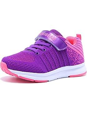 [Patrocinado]Unisex-Niños Zapatillas de Zapatos para Correr Niños Niñas Zapatilla de Deporte de Moda Zapatos de Interior Running...