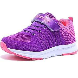 Hallenschuhe Kinder Turnschuhe Jungen Sport Schuhe Mädchen Kinderschuhe Sneaker Outdoor Laufschuhe für Unisex-Kinder